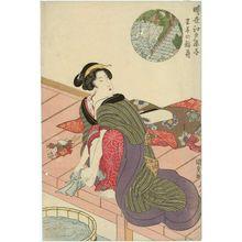 Utagawa Kunisada: Ôji no Inari, Tôsei Edo kanoko - Museum of Fine Arts