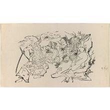 奥村政信: Momijigari - ボストン美術館