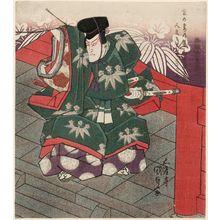 Utagawa Kunisada: Actor Bandô Mitsugorô III as Minamoto no Yoritomo - Museum of Fine Arts