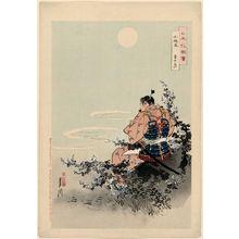 Ogata Gekko: Kozakura odoshi. Yushizuki (Cherry pattern plate binding of armor. The Hero's Month). Series: Nippon Hana Zue (Flowers of Japan, Illustrated) - Museum of Fine Arts