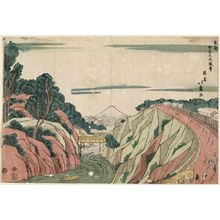 昇亭北壽: View of Ochanomizu (Ochanomizu fûkei), from the series The Eastern Capital (Tôto) - ボストン美術館
