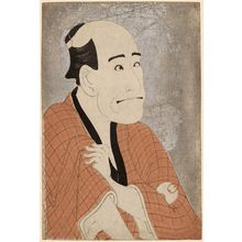 Toshusai Sharaku: Actor Arashi Ryûzô II as the Moneylender Ishibe Kinkichi - Museum of Fine Arts