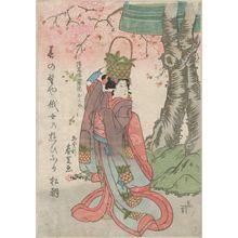 Gatôken Shunshi: Actor as Okumi, the Ghost of Hôkaibô - Museum of Fine Arts