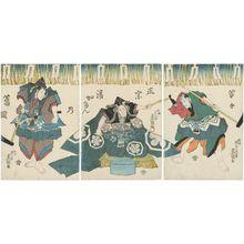 Utagawa Kunisada: Actors - Museum of Fine Arts
