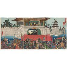 Utagawa Kuniyoshi: Chûtatsu Kômei kakomi no zu - Museum of Fine Arts