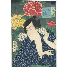 Toyohara Kunichika: from the series Thirty-six Selected Flowers and Grasses (Sanjûrokkasô no uchi) - Museum of Fine Arts
