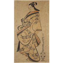 Kaigetsudô Doshin: Standing Courtesan - Museum of Fine Arts