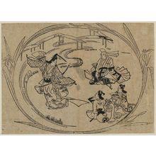 Hishikawa Moronobu: No play Kakitsubata - Museum of Fine Arts