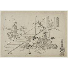 奥村政信: Tanabata ni yoru imose - ボストン美術館