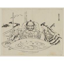 Okumura Masanobu: Shusui San Shiki ( Three kinds of Sak'e Drinking) - Museum of Fine Arts