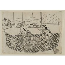 Okumura Masanobu: Parody of a Pleasure Boat - Museum of Fine Arts