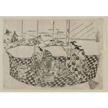 Okumura Masanobu: Parody of a Pleasure Boat - Museum of Fine Arts