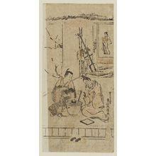Okumura Masanobu: Parody of the Nô Play Hachi no ki - Museum of Fine Arts