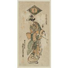 Okumura Masanobu: Actor Onoe Kikugorô - Museum of Fine Arts