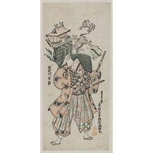 Okumura Masanobu: Actor Sanogawa Ichimatsu as Soga no Gorô - Museum of Fine Arts