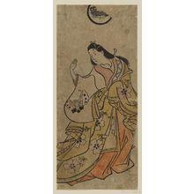 Torii Kiyonobu I: Actor Hanaoka Miyako - Museum of Fine Arts