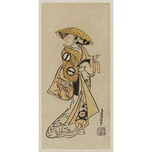 Torii Kiyonobu I: Actor Ichikawa Monnosuke - Museum of Fine Arts