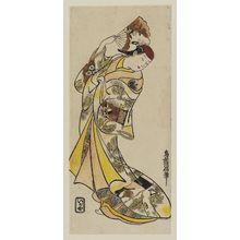 鳥居清倍: Actor Fujimura Handayû - ボストン美術館