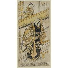 Torii Kiyomasu II: Actors Matsumoto Kôshirô as Kudô Saemon and Sanokawa Ichimatsu as Otaka - Museum of Fine Arts