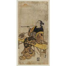 Torii Kiyomasu II: Actor - Museum of Fine Arts