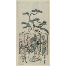 Torii Kiyomasu II: Actor Onoe Kikugorô - Museum of Fine Arts