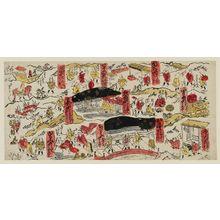 Torii Kiyomasu II: Various scenes along the Tokaido. Series - Tokaido No. 5. - Museum of Fine Arts