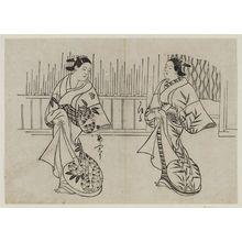古山師重: Oshu and Kaoru - ボストン美術館