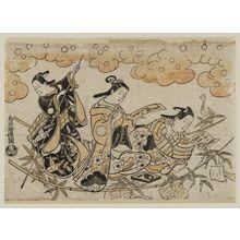 Torii Kiyomasu I: Tanabata Festival - Museum of Fine Arts