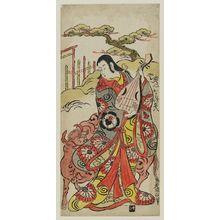 Torii Kiyonobu II: Actor Dekishima Heihachi - Museum of Fine Arts