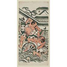 Torii Kiyonobu II: Actors Nakamura Sukegorô I as Matsunaga Danjo and Ôtani Hiroji as Takatori Danjo - Museum of Fine Arts