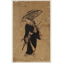 Okumura Toshinobu: Actor Ogino Isaburô as Watanabe no Tsuna - Museum of Fine Arts