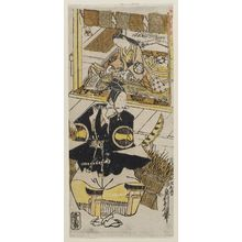 Okumura Toshinobu: Actors Ichikawa Monnosuke and Sodesaki Miwano - Museum of Fine Arts