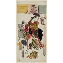 Okumura Toshinobu: Actor Arashi Wakano as Kewaizaka no Shôshô - Museum of Fine Arts