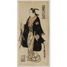 Okumura Toshinobu: Actor Ichikawa Monnosuke I - Museum of Fine Arts