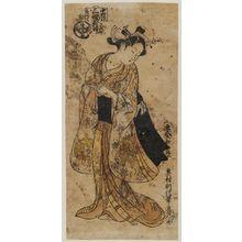 奥村利信: O-Kuni, Sakai cho no Hana; Sampuku tsui, migi. Nakamurazome - ボストン美術館