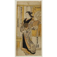 Tsunekawa Shigenobu: The Courtesan Yugiri of the Ibaragiya - ボストン美術館