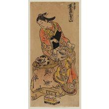 Tsunekawa Shigenobu: Kyoto, Center Sheet of a Triptych (Kyô, sanpukutsui chû) - ボストン美術館