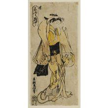 Hirose Shigenobu: Courtesan of Kyoto, Center Sheet of a Triptych (Kyô, sanpukutsui chû) - ボストン美術館