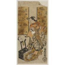 Torii Kiyotada I: Actor Arashi Kiyosa - Museum of Fine Arts