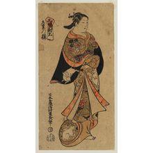 Nishimura Shigenaga: Kokonoe no Sakura, Right Sheet of a Triptych (Sanpukutsui migi) - Museum of Fine Arts