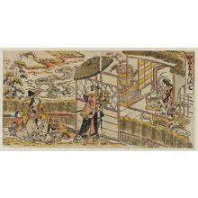 西村重長: Katagiri Yashichi (?) - ボストン美術館