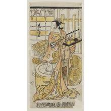 Nishimura Shigenobu: Actor Arashi Koisa - Museum of Fine Arts