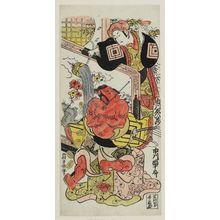 Nishimura Shigenobu: Actors Ichikawa Ebizô and Ichikawa Danjûrô III - Museum of Fine Arts