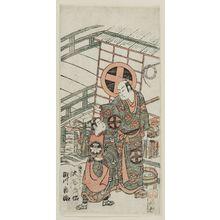 Torii Kiyohiro: Actors Ôtani Hiroji as Umebori no Yoshibei and and Segawa Kichiji as Ageha no Chôkichi - Museum of Fine Arts