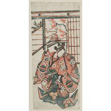 Torii Kiyohiro: Actor Nakamura Kumetarô - Museum of Fine Arts