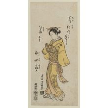 Torii Kiyohiro: A standing beauty - Museum of Fine Arts