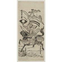 鳥居清廣: Kumagai Jirô Naozane - ボストン美術館