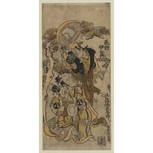 Torii Kiyoshige: Actors Ogino Isaburô and, from Kyoto, Sadoshima Chôgorô - Museum of Fine Arts
