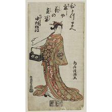 Torii Kiyomitsu: Actor Nakamura Matsue as Agemaki - Museum of Fine Arts
