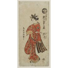 鳥居清満: Actor Segawa Kikunojô as Yaoya Oshichi - ボストン美術館